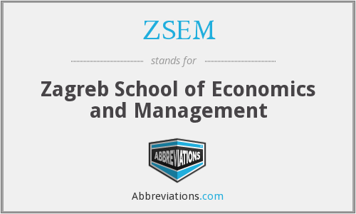 What does ZSEM stand for?