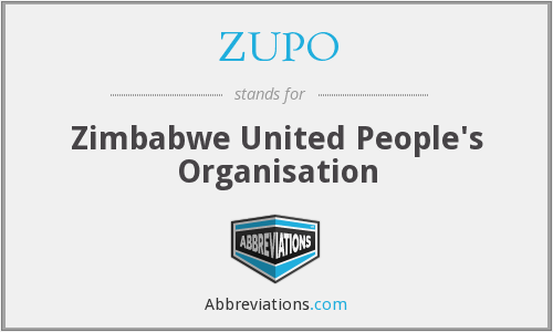 What does ZUPO stand for?