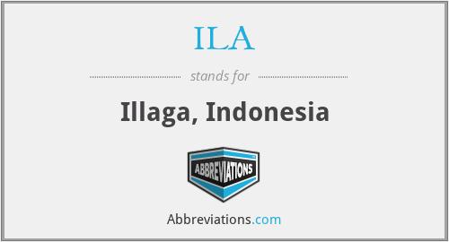 ILA - Illaga, Indonesia