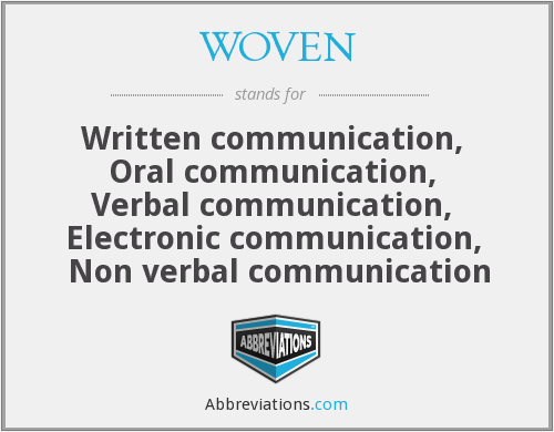 What does WOVEN stand for?
