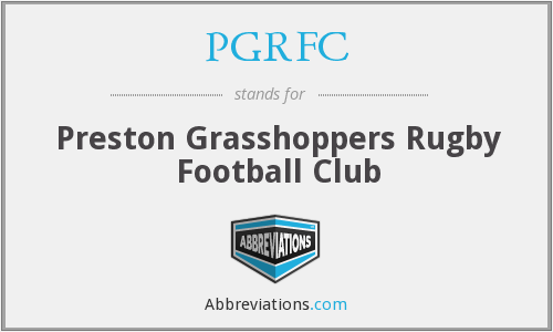 What does PGRFC stand for?