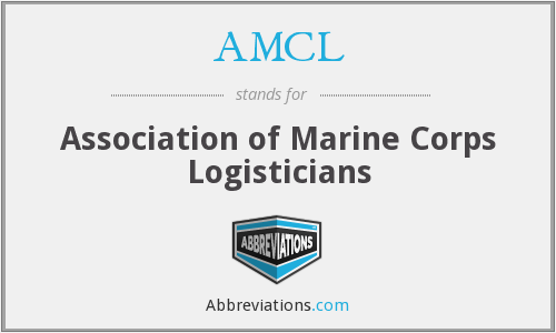 AMCL - Association of Marine Corps Logisticians