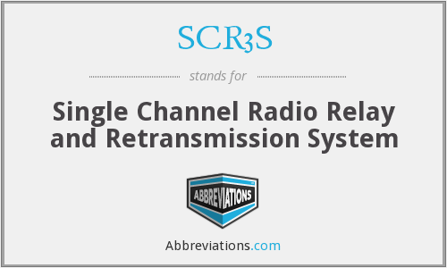 SCR3S - Single Channel Radio Relay and Retransmission System