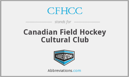 CFHCC - Canadian Field Hockey Cultural Club
