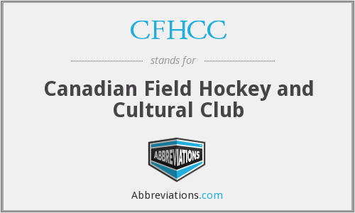 CFHCC - Canadian Field Hockey and Cultural Club