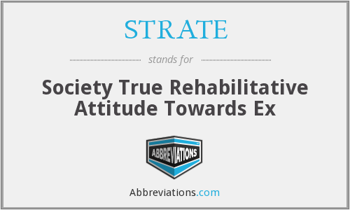 What does STRATE stand for?