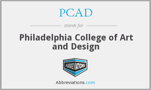 PCAD - Philadelphia College of Art and Design
