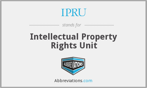 What does IPRU stand for?