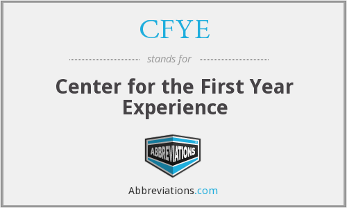 What does CFYE stand for?
