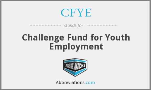 CFYE - Challenge Fund for Youth Employment