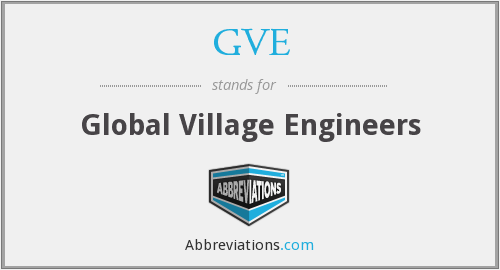 GVE - Global Village Engineers