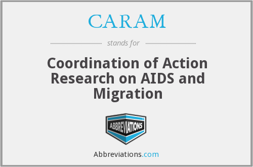 CARAM - Coordination of Action Research on AIDS and Migration