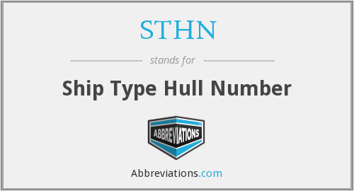 What does STHN stand for?