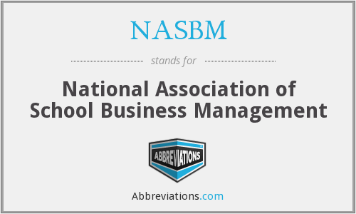 What does NASBM stand for?