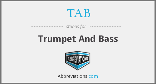 TAB - Trumpet And Bass