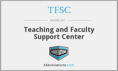 What does TFSC stand for?