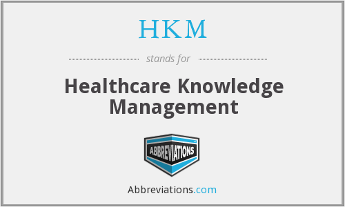 What does HKM stand for?