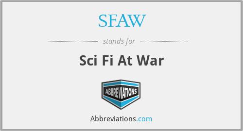 SFAW - Sci Fi At War