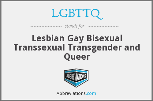 What does LGBTTQ stand for?