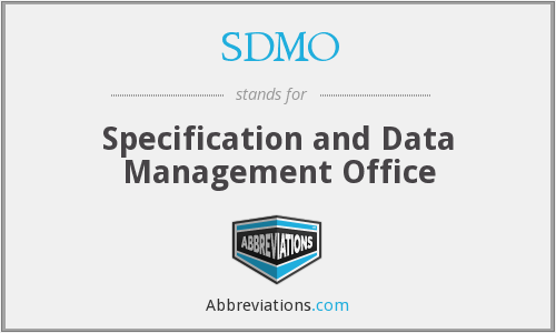 What does SDMO stand for?