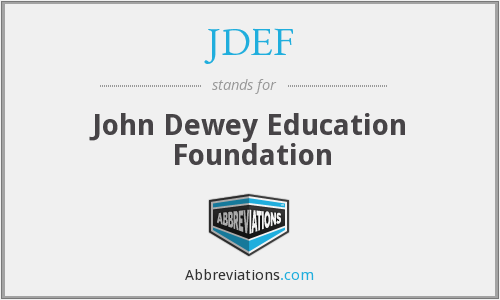 What does JDEF stand for?