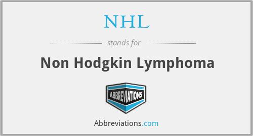 NHL - Non Hodgkin Lymphoma