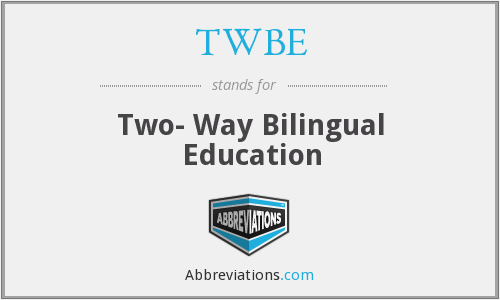What does TWBE stand for?