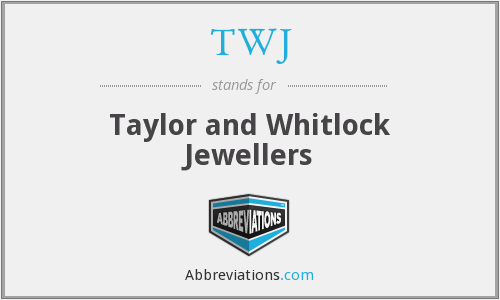 TWJ - Taylor and Whitlock Jewellers