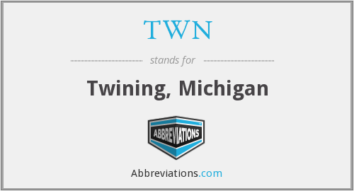 TWN - Twining, Michigan