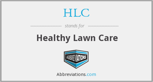 HLC - Healthy Lawn Care