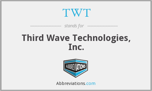 TWT - Third Wave Technologies, Inc.
