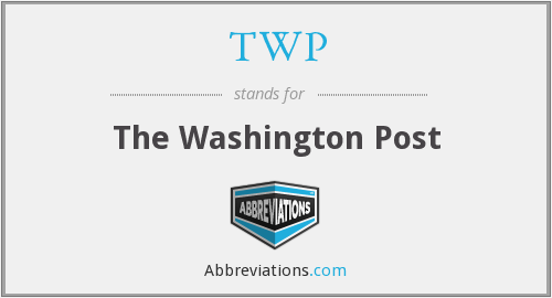 What does TWP stand for?