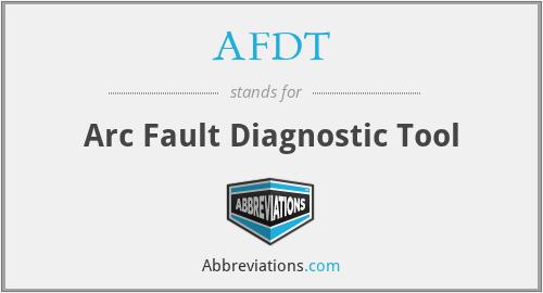 AFDT - Arc Fault Diagnostic Tool