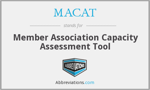 What does MACAT stand for?