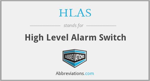 HLAS - High Level Alarm Switch