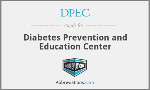 DPEC - Diabetes Prevention and Education Center