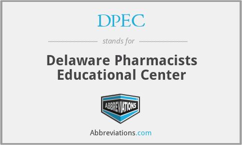 DPEC - Delaware Pharmacists Educational Center