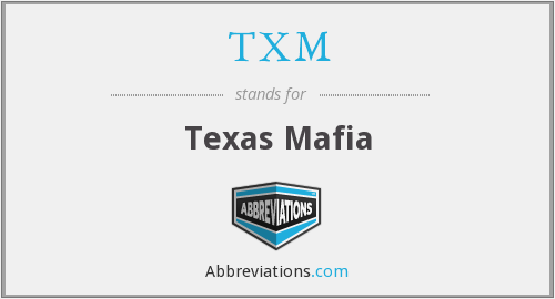 What does TXM stand for?