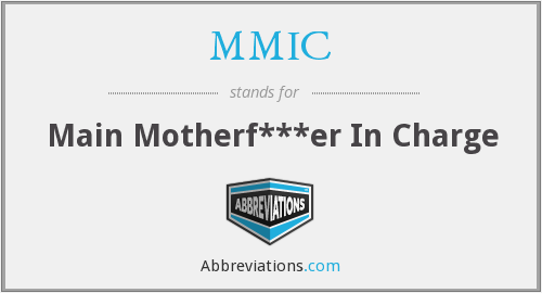 MMIC - Main Motherf***er In Charge