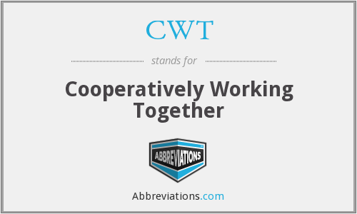 CWT - Cooperatively Working Together