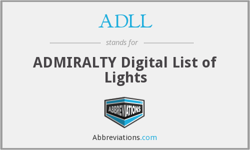 What does ADLL stand for?