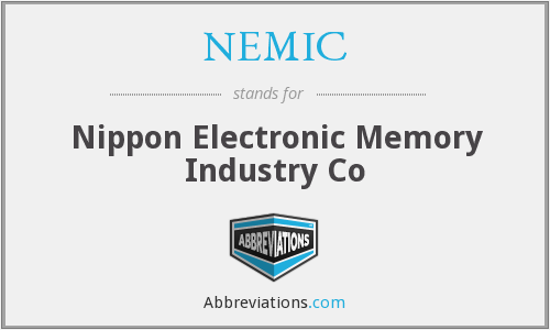 NEMIC - Nippon Electronic Memory Industry Co