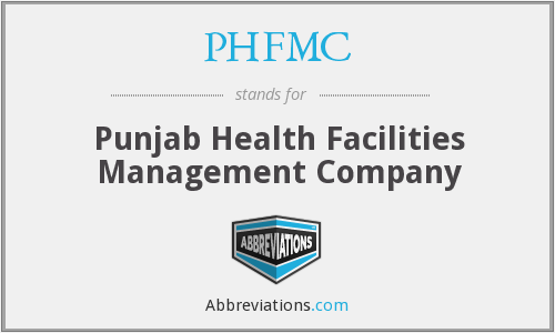 What does PHFMC stand for?