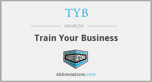 What does TYB stand for?