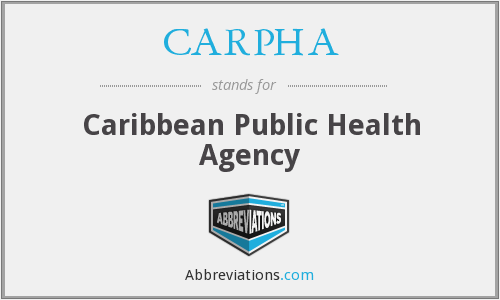 What does CARPHA stand for?