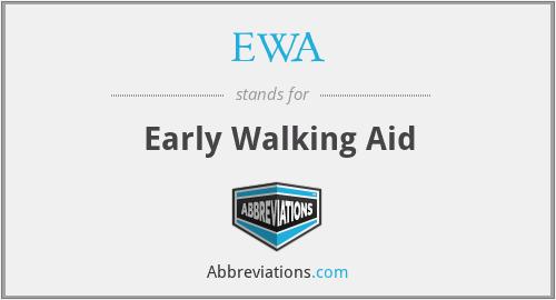 EWA - Early Walking Aid