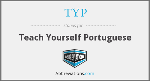 TYP - Teach Yourself Portuguese