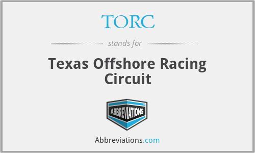 TORC - Texas Offshore Racing Circuit