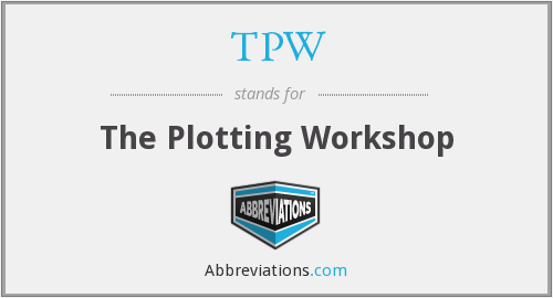 TPW - The Plotting Workshop