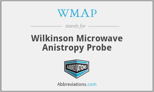 WMAP - Wilkinson Microwave Anistropy Probe